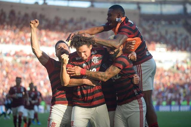 Flamengo repete o placar do primeiro jogo e é campeão carioca