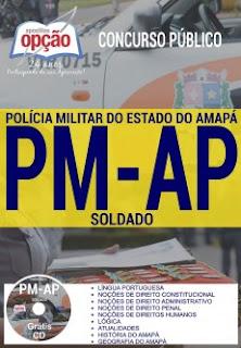 Apostila concurso Polícia Militar do Amapá - SOLDADO PM-AP 2017