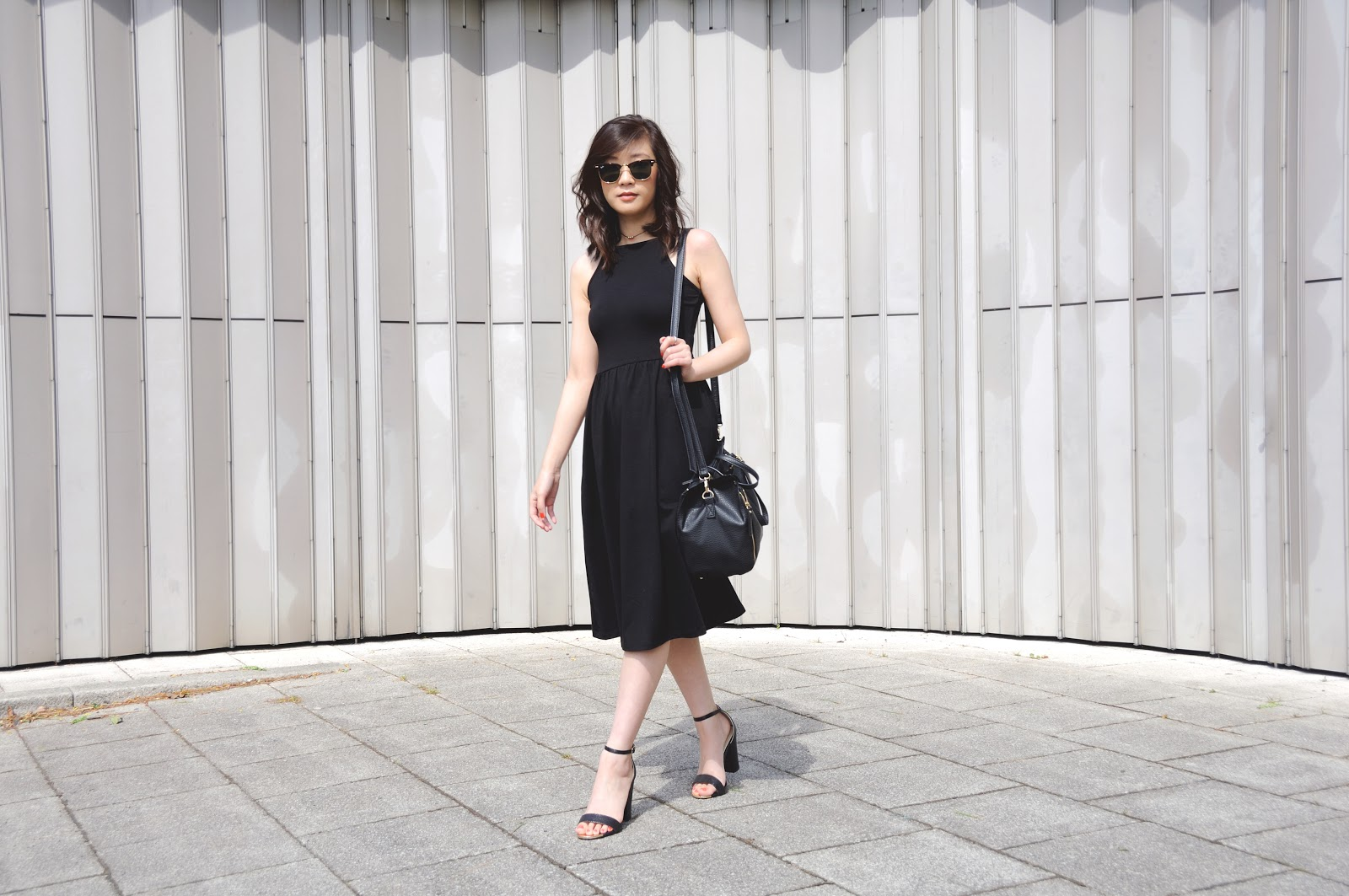 How To Style 90's Style Black Dress