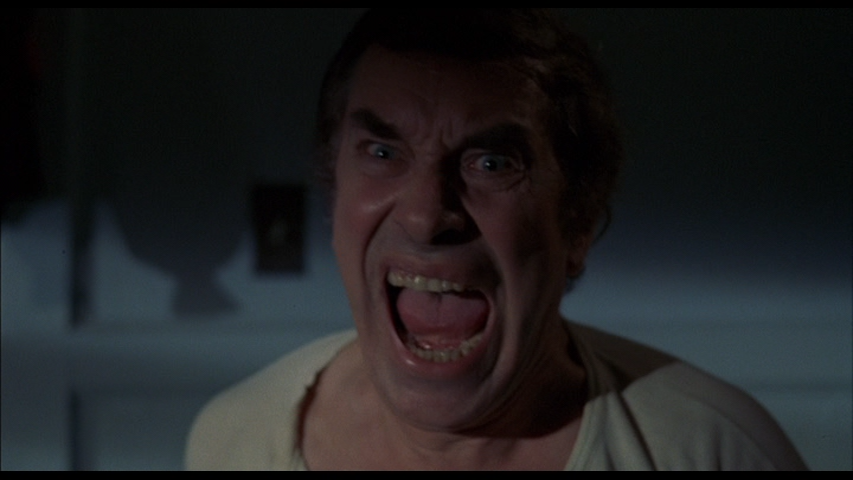 Martin Landau awakens from a nightmare in Alone In The Dark (1982)