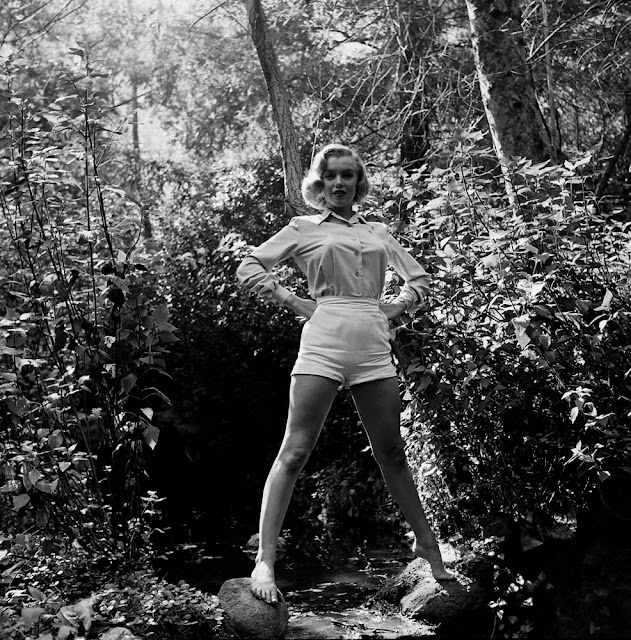 18 Rare Early Photos of Marilyn Monroe in Griffith Park ...