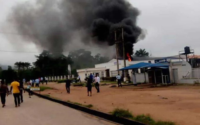 Another bank gutted by fire in Ondo State