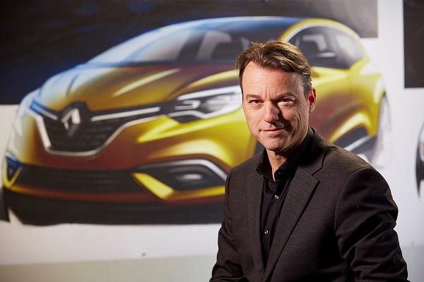 """Laurens van den Acker de Renault fue elegido """"Diseñador del año"""""""
