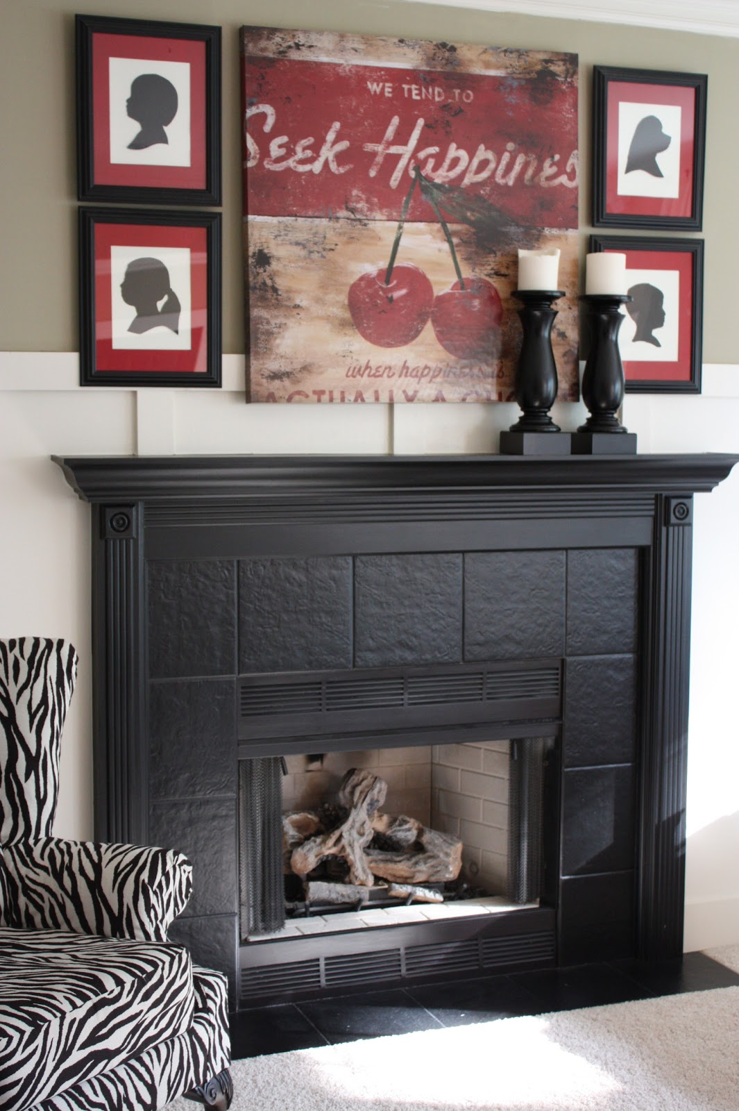 31 Days Of Character Building Builder Fireplace Makeover