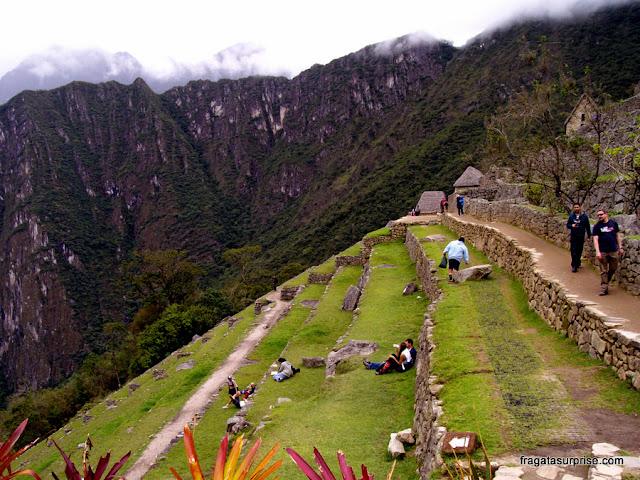 Terraços de cultivo, Machu Picchu, Peru