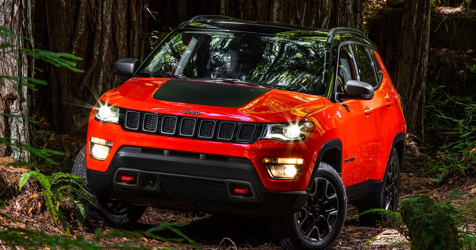 2017 Jeep Compass Ready To Head Off Road In Trailhawk Spec