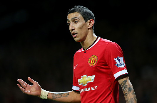 Angel di Maria to return before Liverpool clash