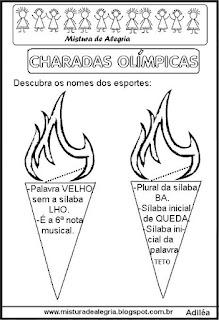 Jogos olímpicos e charadas olímpicas