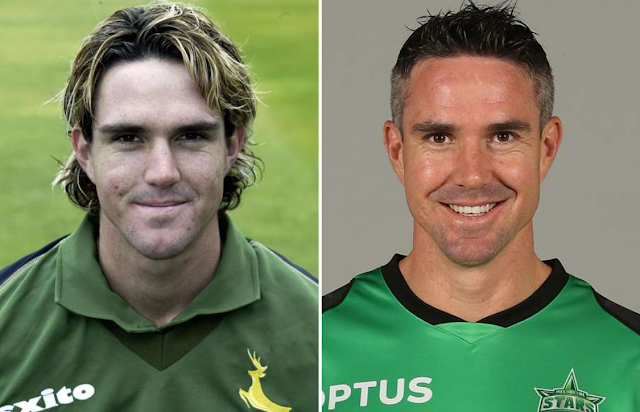 Kevin Pietersen then and now