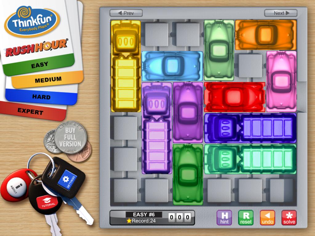 Rush Hour Spiel App