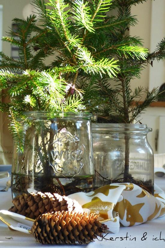 Wohnen weihnachtlich Weihnachtsdeko Selbermachen