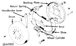 Auto Repair: Ford Courier 1972 73 Brake Repair Manual