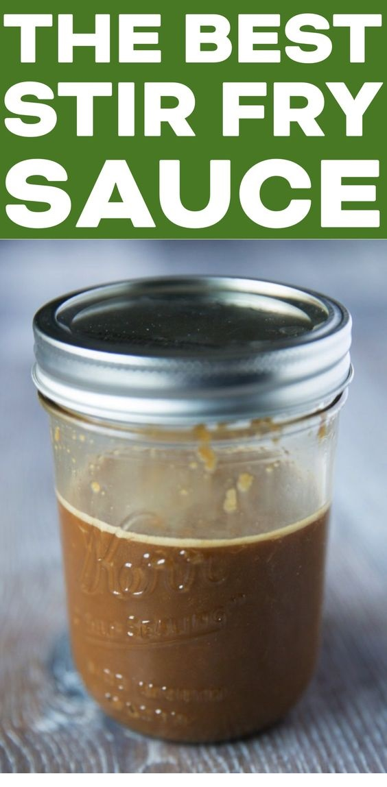 The Best Stir Fry Sauce