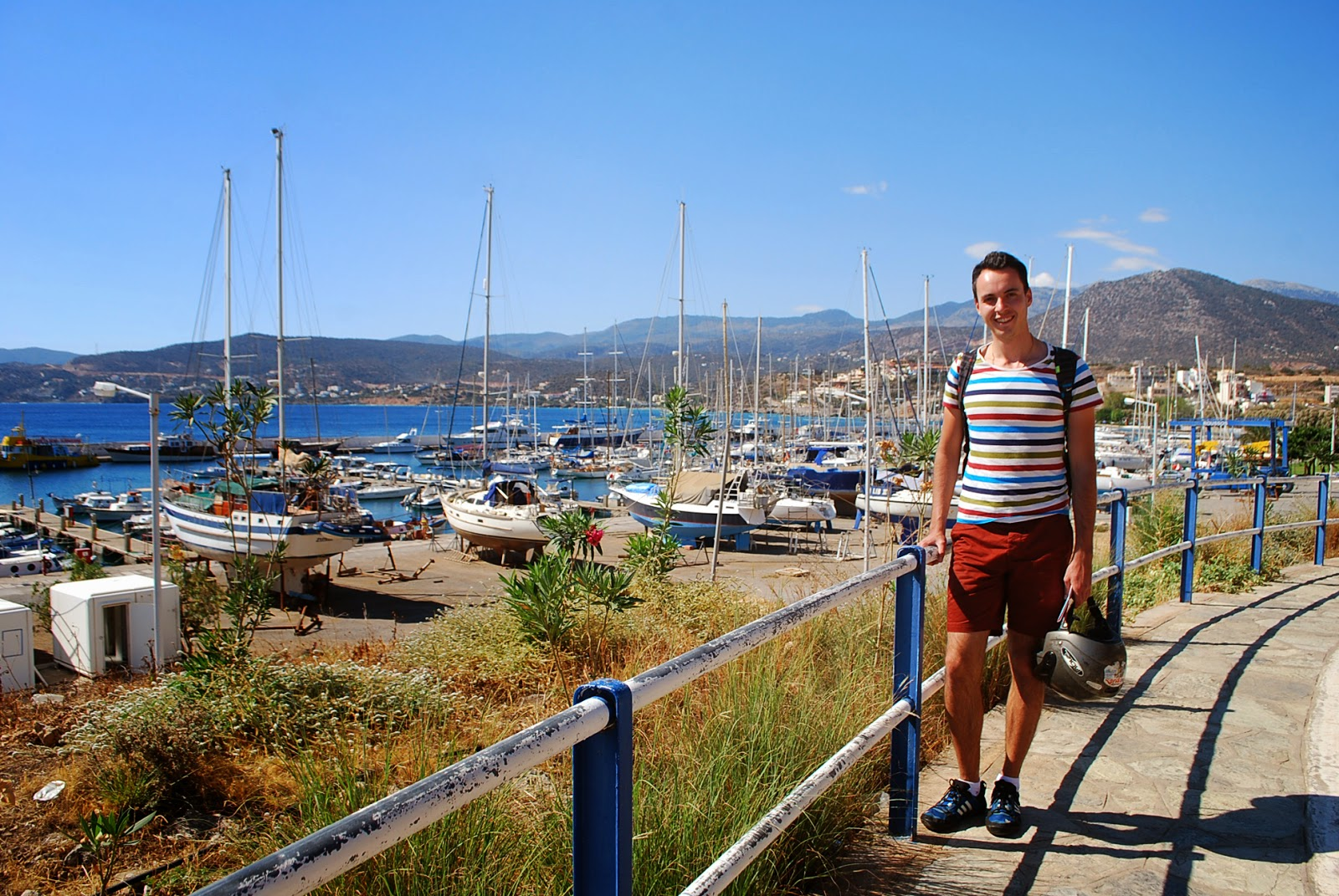 Порт, Агиос Николаос, Крит. Port, Agios Nikolaos, Crete.