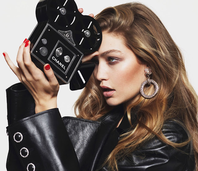 editorial : gigi hadid by mert and marcus for vogue paris march 2016 :: cool chic style fashion