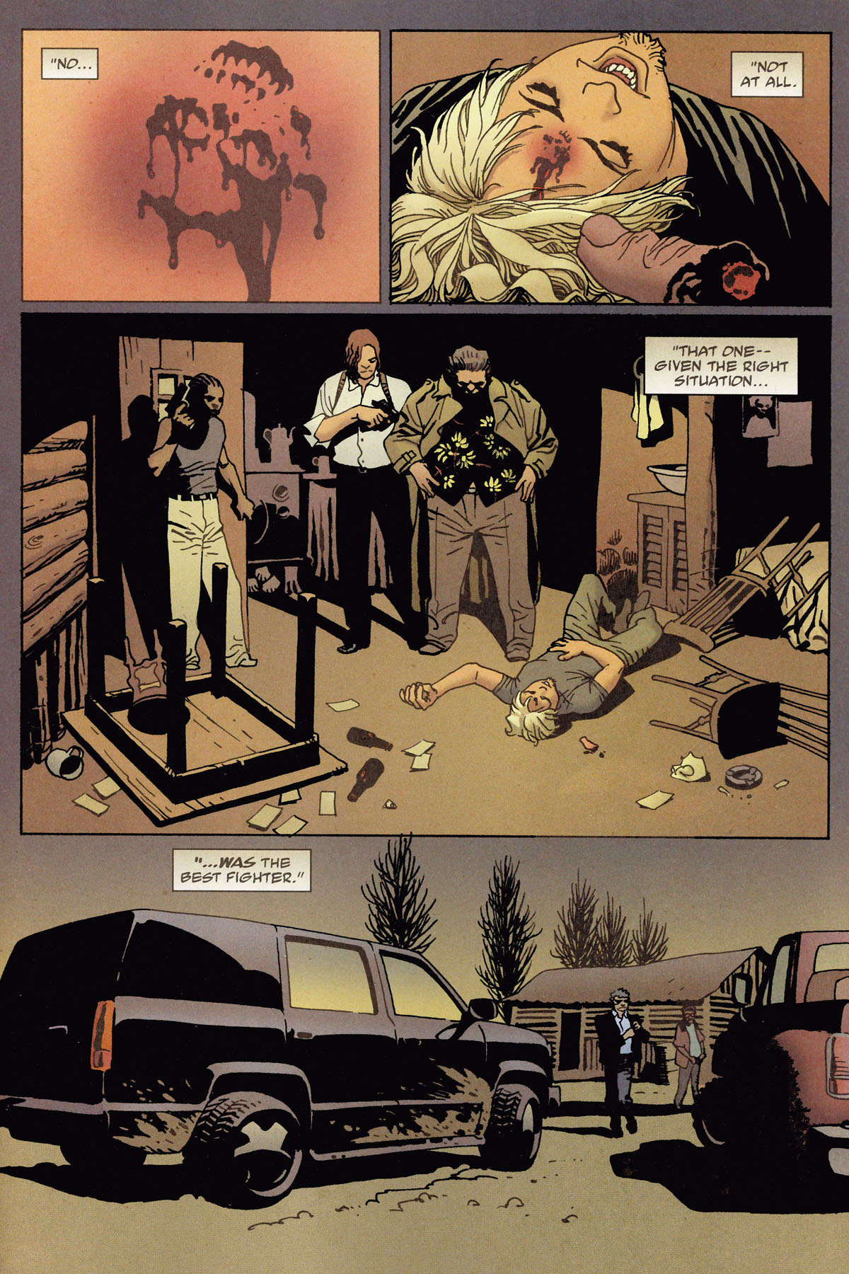 Read online 100 Bullets comic -  Issue #79 - 22