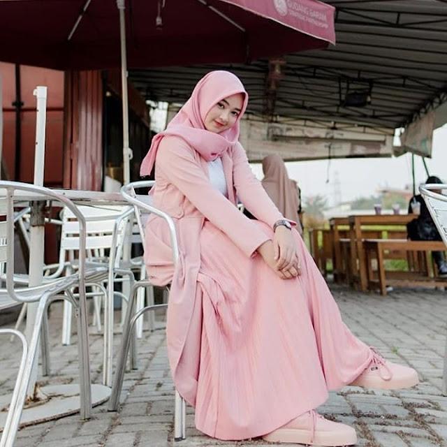 Model Baju Hijab Anak Kuliah