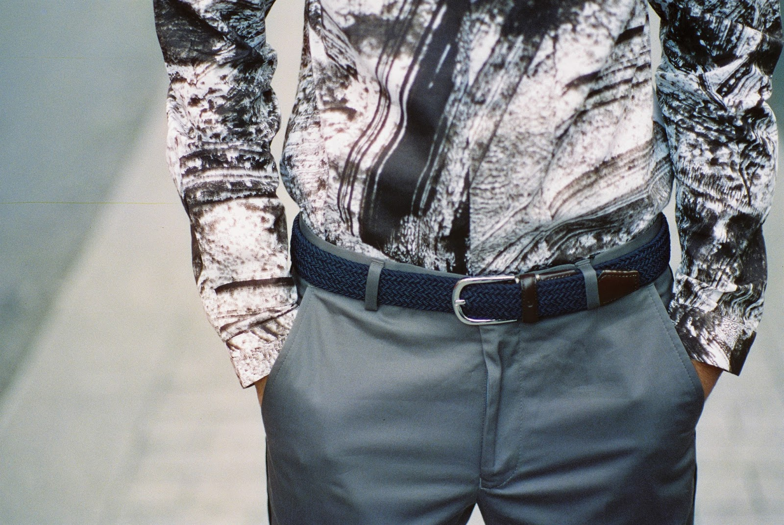 Salman Dean Wearing A Brydon Brothers Belt