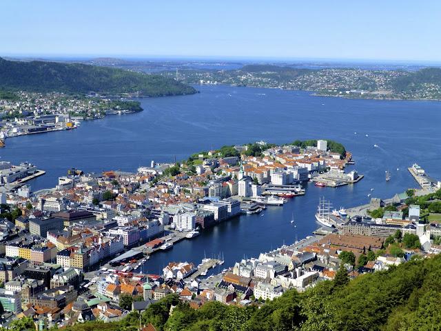 Bergen desde lo alto