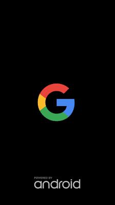 Google boot animation