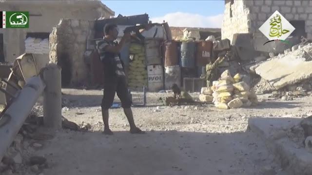 Video: Bantai Puluhan Tentara Assad, Pejuang Suriah Rebut Kembali Kamp Handarat