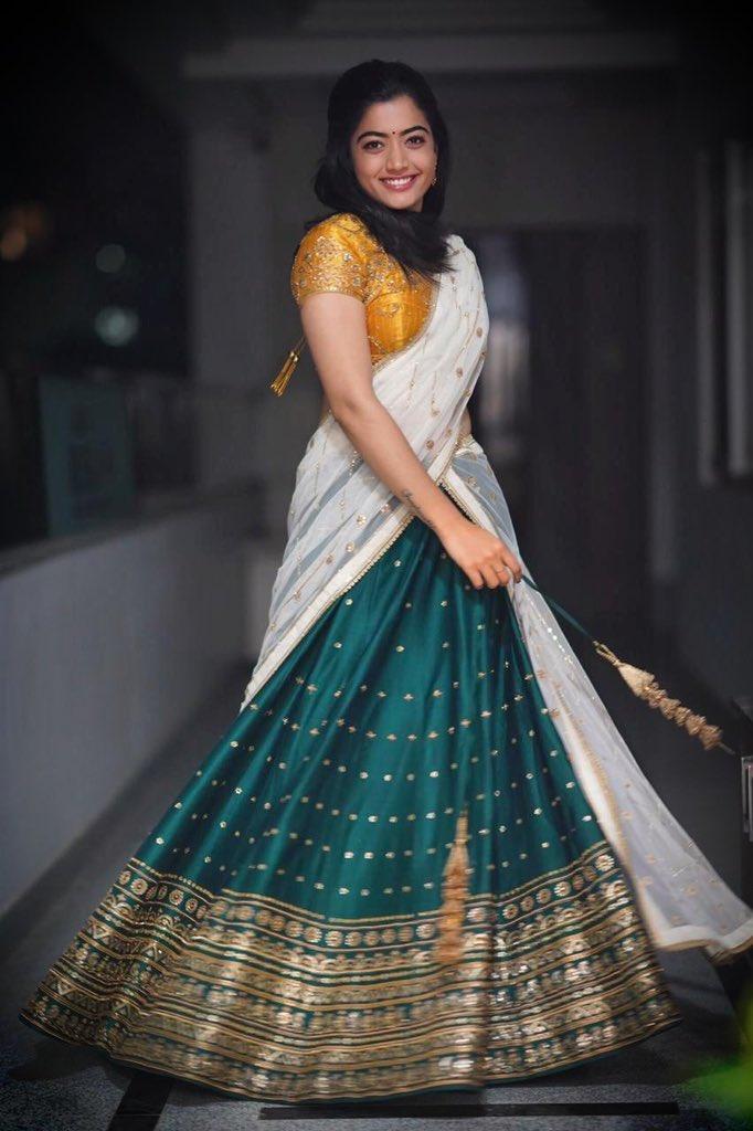 Actress RashmikaMandanna Latest HD Images