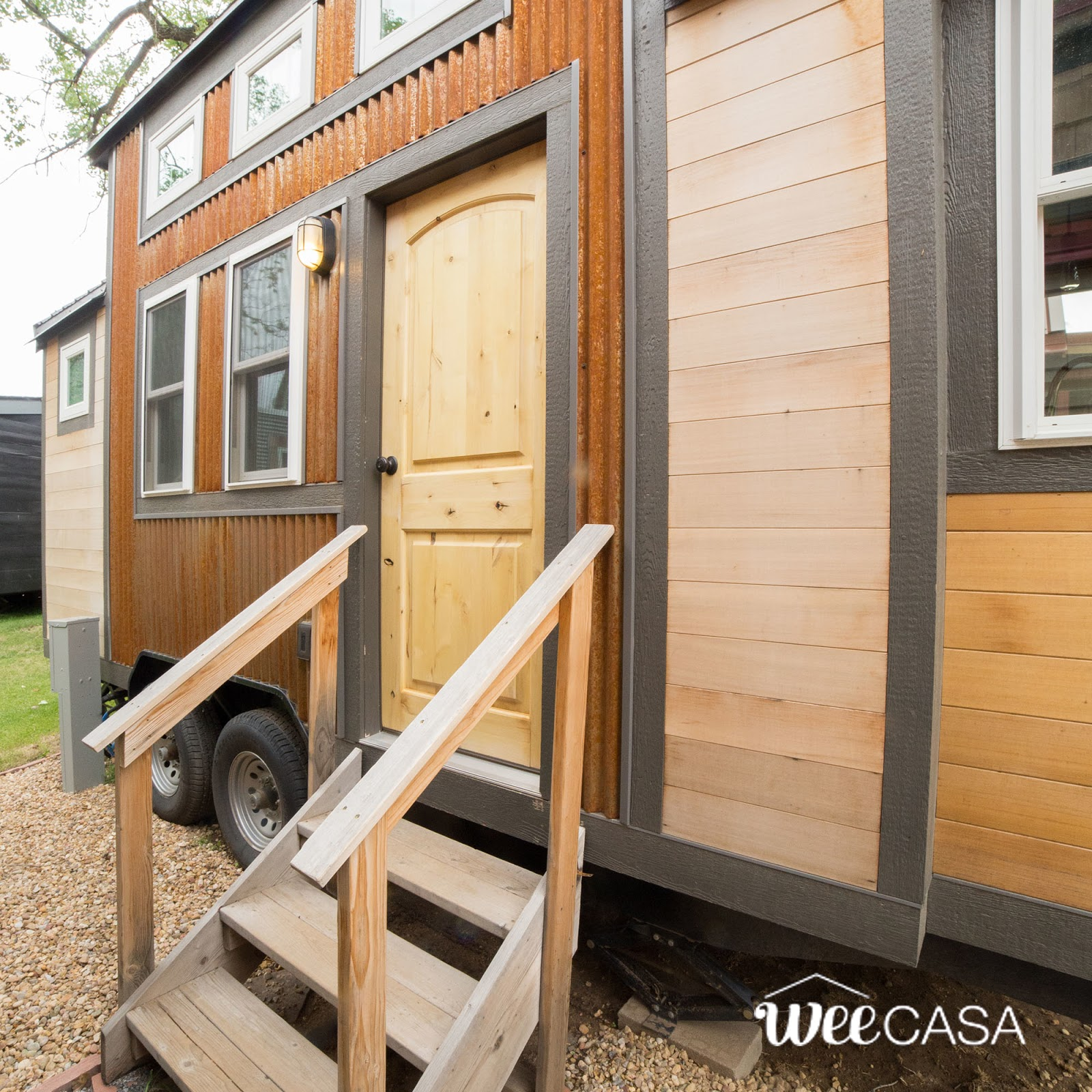Tiny Home Designs: TINY HOUSE TOWN: The Rusty Aspen (170 Sq Ft