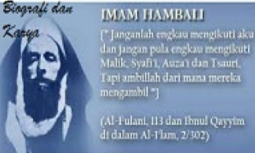 Karya Imam Hambali