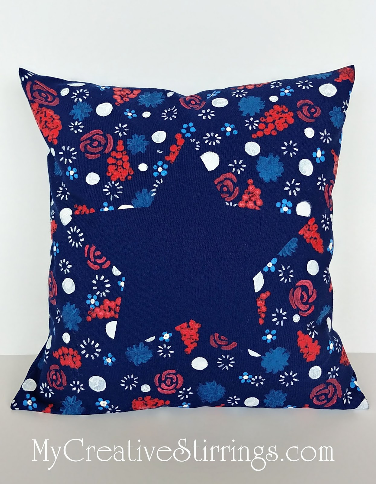 This Pillows Basic Design Floated Into My Brain One Fine