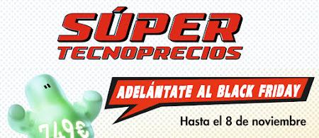 Top 5 ofertas Súper Tecnoprecios, adelántate al Black Friday de El Corte Inglés