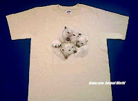 polar bear t shirt usa