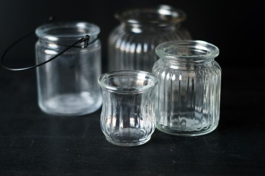 Blog + Fotografie by it's me! - fim.works - Sammlung von Teelichtgläsern