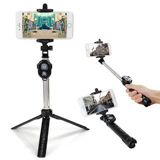 selfie treppiede con telecomando