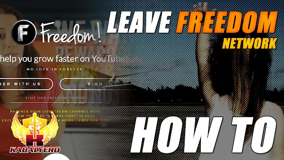 How To Leave Freedom Network ★ It's Actually Pretty Easy
