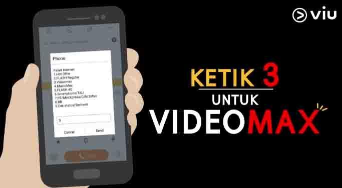 Triks Mengubah Kuota Videomax menjadi Kuota Flash