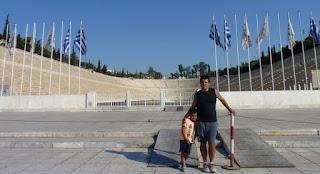 Estadio Panatenaico de Atenas.