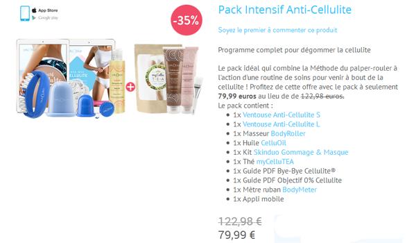 Cellublue - Méthode Anti-Cellulite ©Le Blog de MissEmma