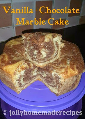 Rich Chocolate Marble Cake