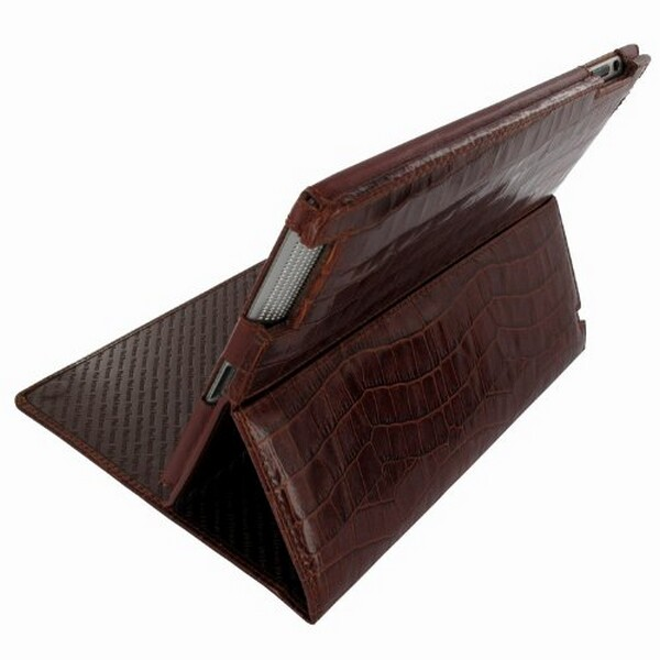 Leather Standing Cinema Case for the Apple iPad 2
