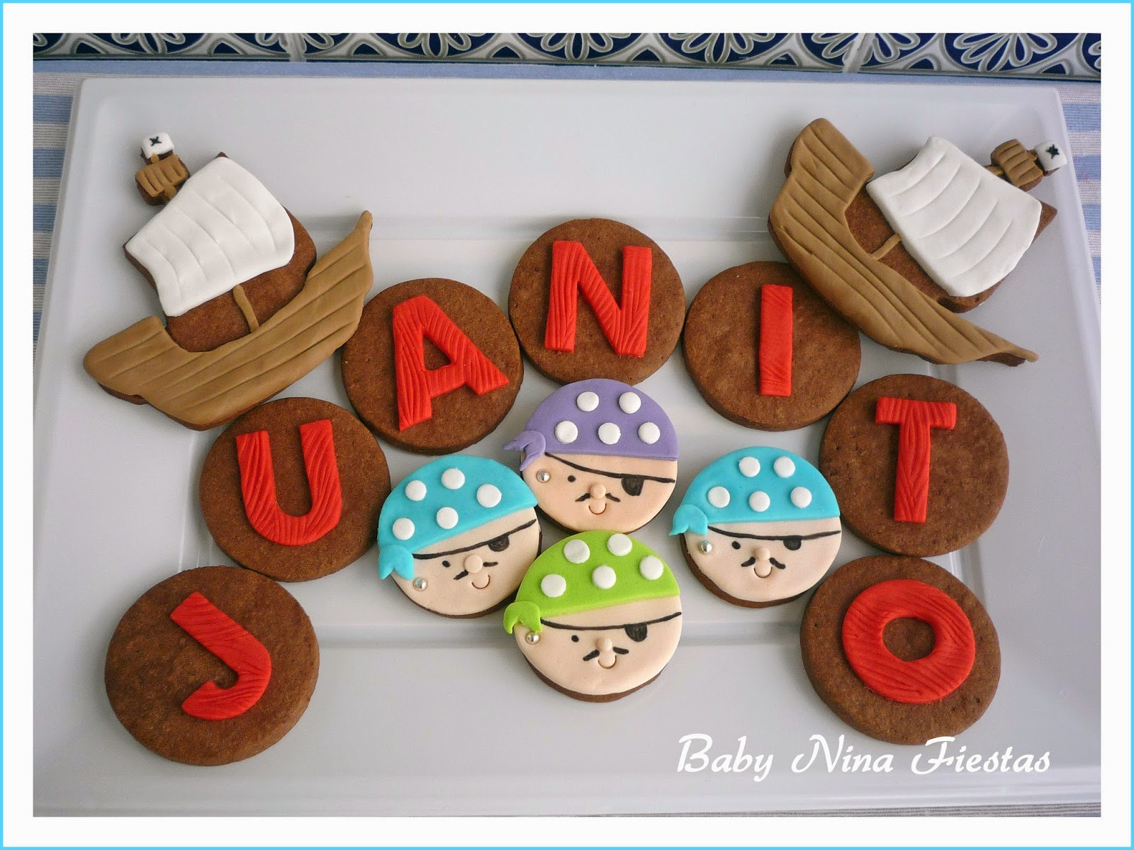 Galletas decoradas Jake y los piratas
