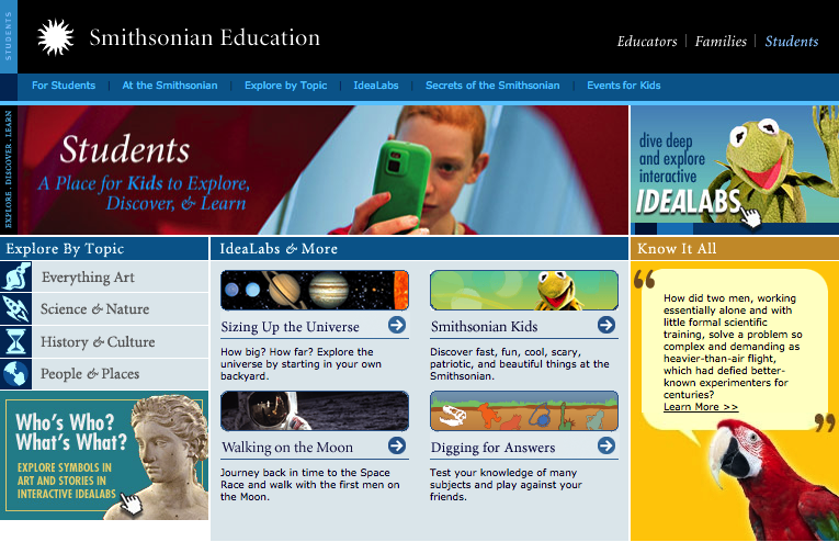 6 Excellent Websites for High School Students | Educational