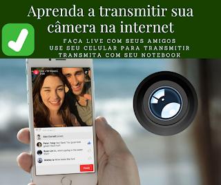 transmita sua câmera na internet