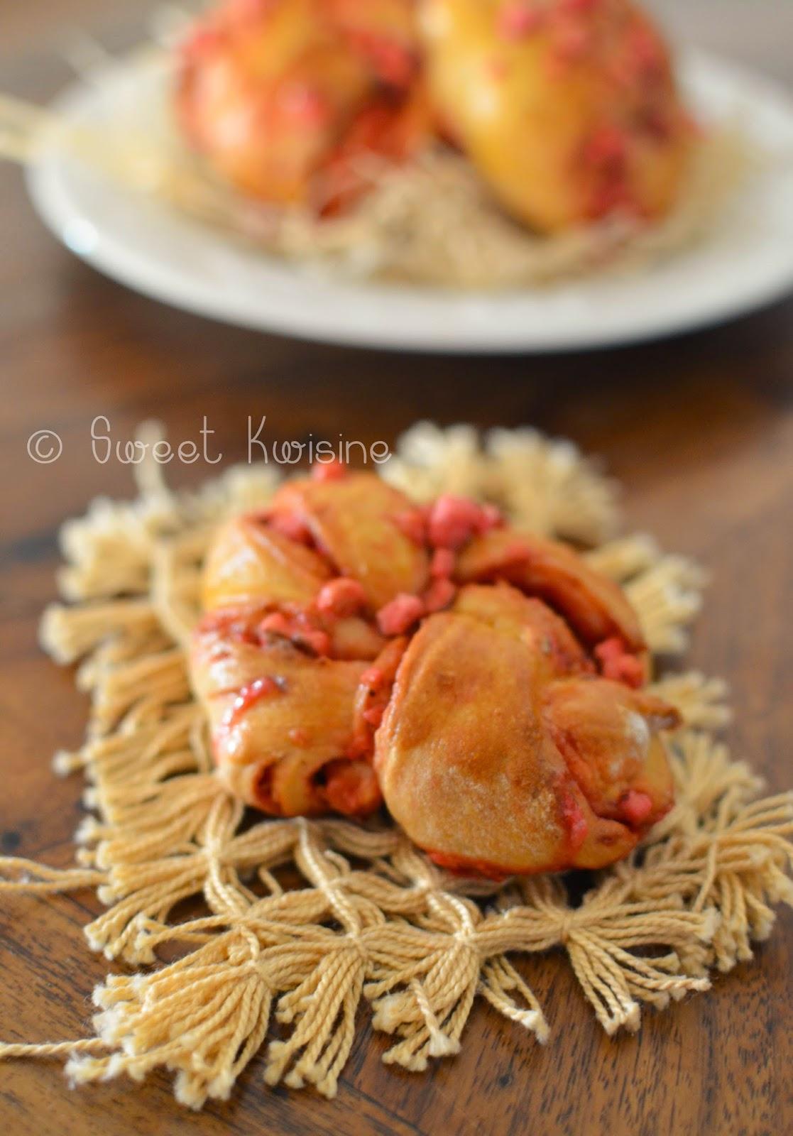 swee kwisine, brioche, boulangerie, pralines roses, saint-valentin, valentine's day, gourmandise,