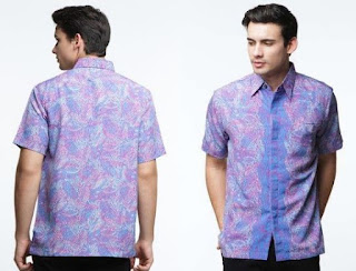 Model Baju Batik Remaja Putra Terbaru Trendy