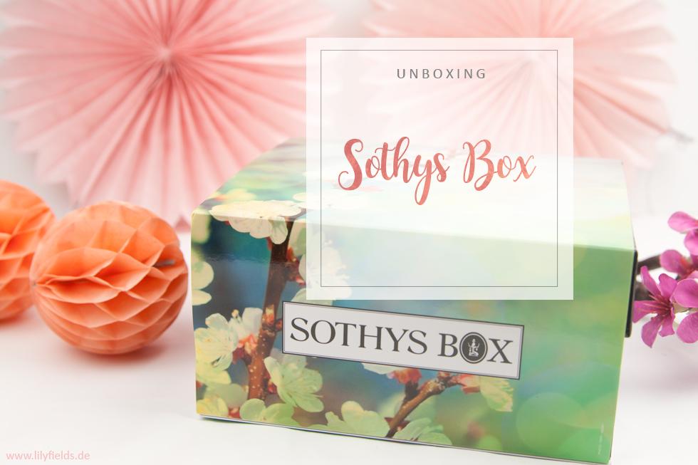SOTHYS Box Frühjahrs-Edition - unboxing