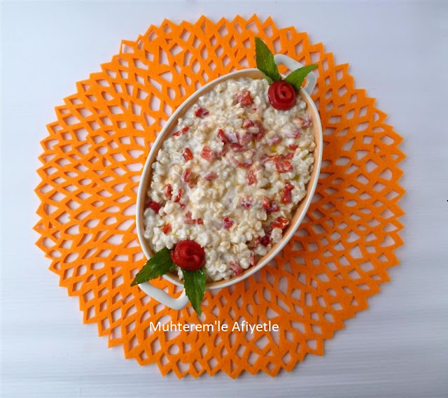 red pepper salad