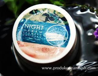 Night Cream Seaweed Chitosan