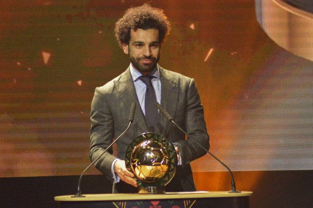 Mohamed Salah won the CAF Player of the Year 2018 ahead of Sadio Mane and Pierre-Emerick Aubameyang