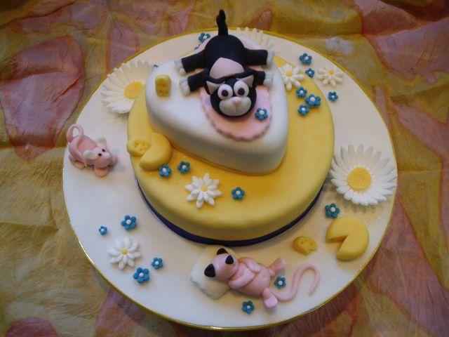 Katz und Maus Torte