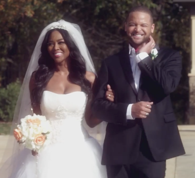 Kenya Moore Wedding.Rhymes With Snitch Celebrity And Entertainment News Kenya